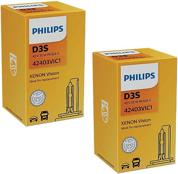 Philips D3s Vision 42403vi C1 Pk32d 5 42403 Vi 2 Stück Auto