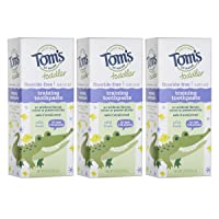 Tom's of Maine Toddlers Fluoride-Free Natural Toothpaste in Gel, Mild Fruit, 1.75...