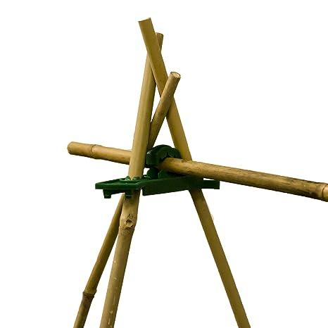 elixirgardens® armazón de agarre planta apoyo caña conector (Juego ...