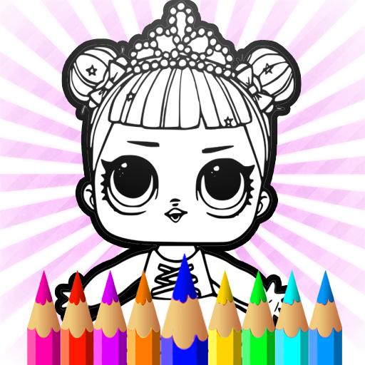 Surprise Dolls Coloring Pages LOL Cartoons
