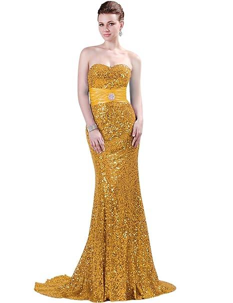 Quissmoda vestido corto largo fiesta, noche, gala, talla 34, color dorado