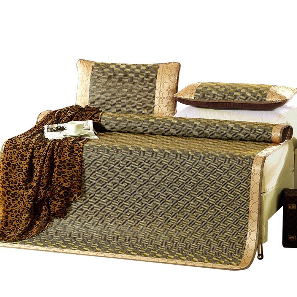 WENZHE Matratzen Matratze Bettmatte Rattangras Sommerschlafmatte Sommer Schweißabsorbierend Atmungsaktiv Glatt,8 Größen (größe   150X195cm)