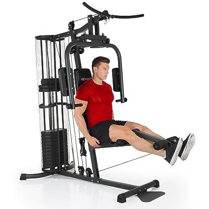 Hammer – Estación de fuerza premium, más de 30 posibilidades de ejercicio para hombros,