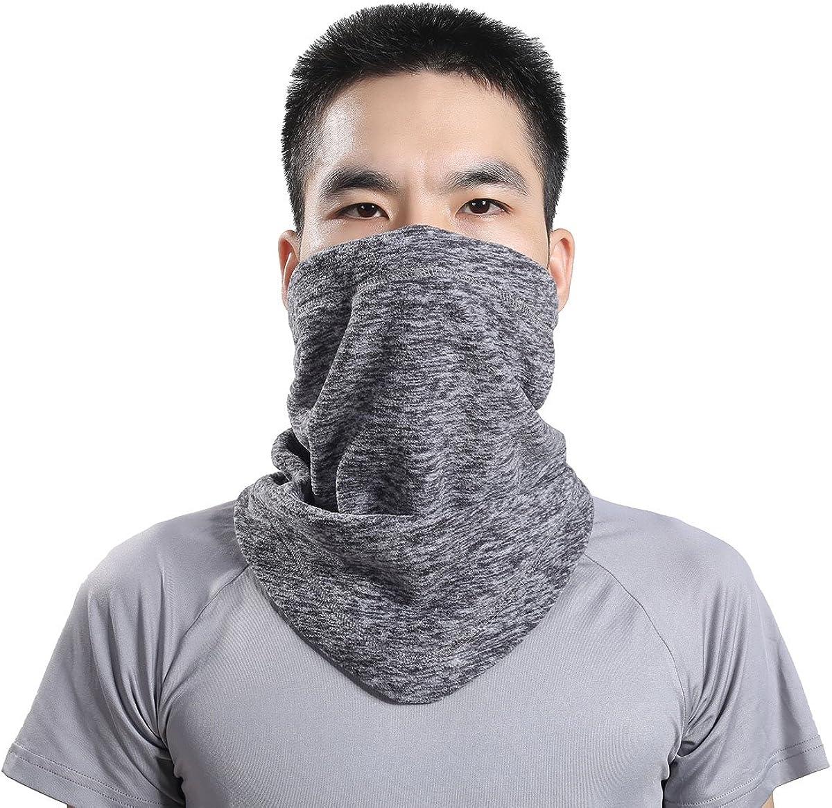 Neck Warmers Face Scarf Neck Gaiter Face Bandana /& Face Cover Windproof Neck Cover Balaclava Face Mask