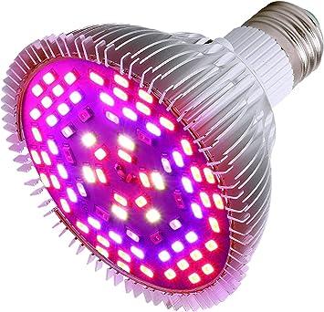 HVTKL 50W LED Full Spectrum Plant Flower Grow Light L/ámpara de tungsteno Lodine impermeable AC185-265V HVTKL