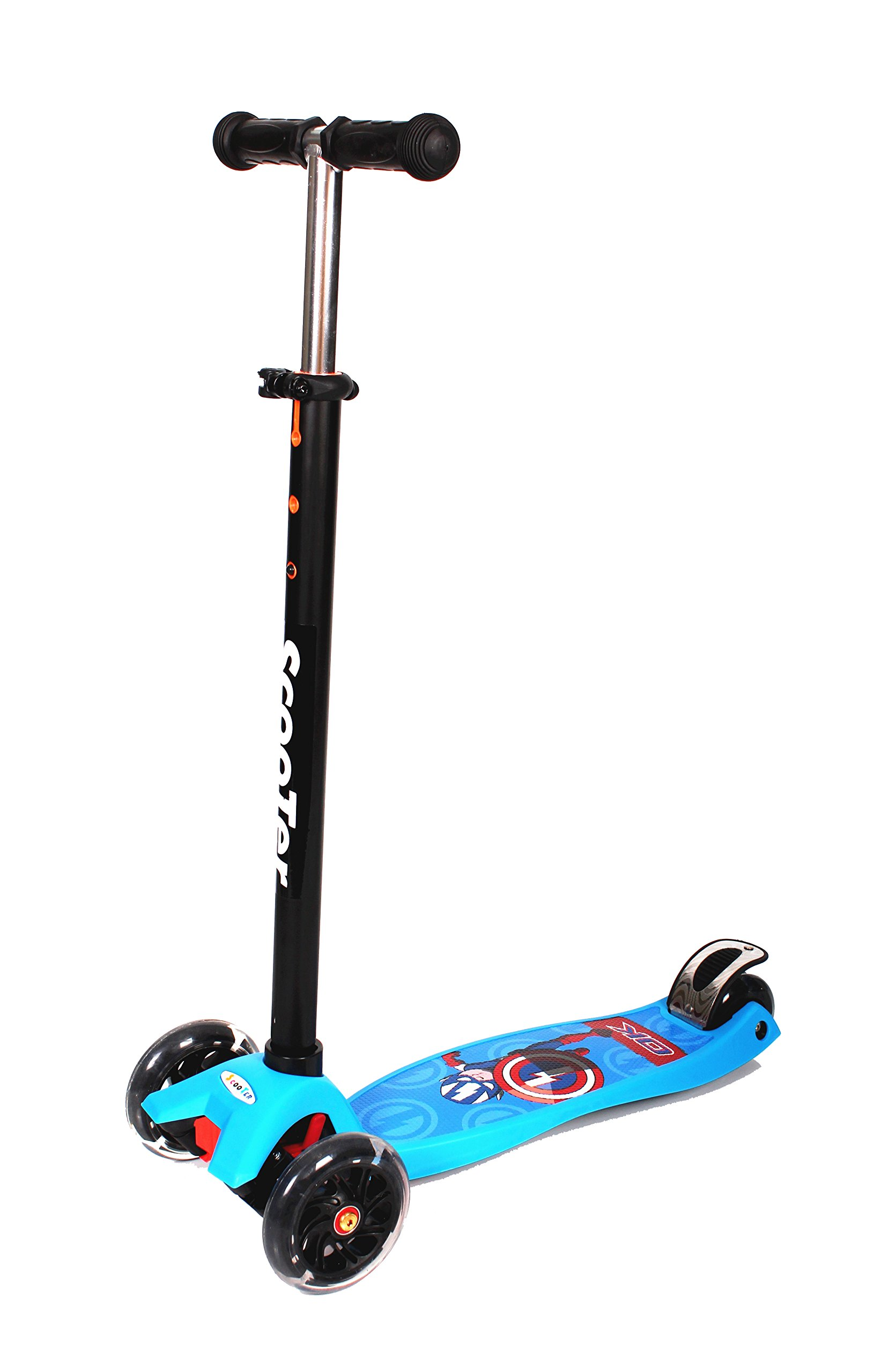 WiiSHAM Original Kick Scooter (blue) 3-10 years old
