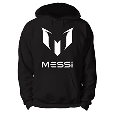2528a529 RoyalTeesUK Mens Hoodie Lionel Messi: Amazon.co.uk: Clothing
