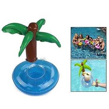 Itian 3 Piezas - con Palmera Titular de Bebida Pool Flotador Bebidas Decoraciones Juguetes de Baño Para Niños y Adultos: Amazon.es: Electrónica