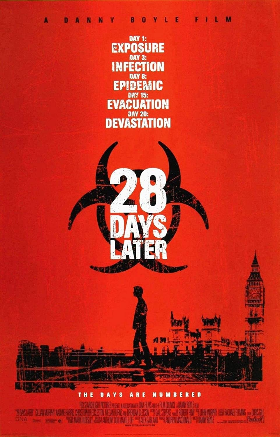 72269 28 Days Later Movie Horror Zombie Decor Wall 36x24 Poster Print