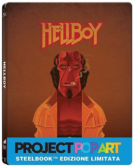 Hellboy (Steelbook) (Blu-Ray) [Italia] [Blu-ray]: Amazon.es ...