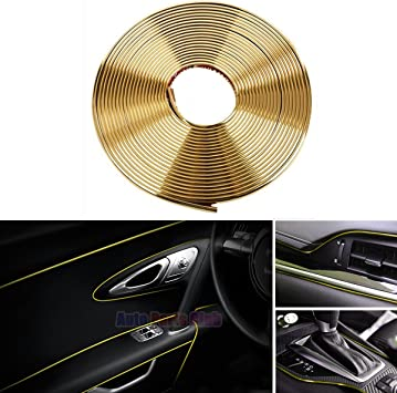 5 Meters Car Styling Moulding Decorative Filler Strip Auto Interior Exterior New