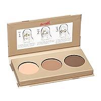 Barry M Cosmetics Chisel Cheeks Contour Kit, Medium/Dark