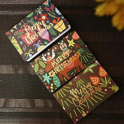 Amazon.com: Christmas Wish Cards - Firework Theme with ...