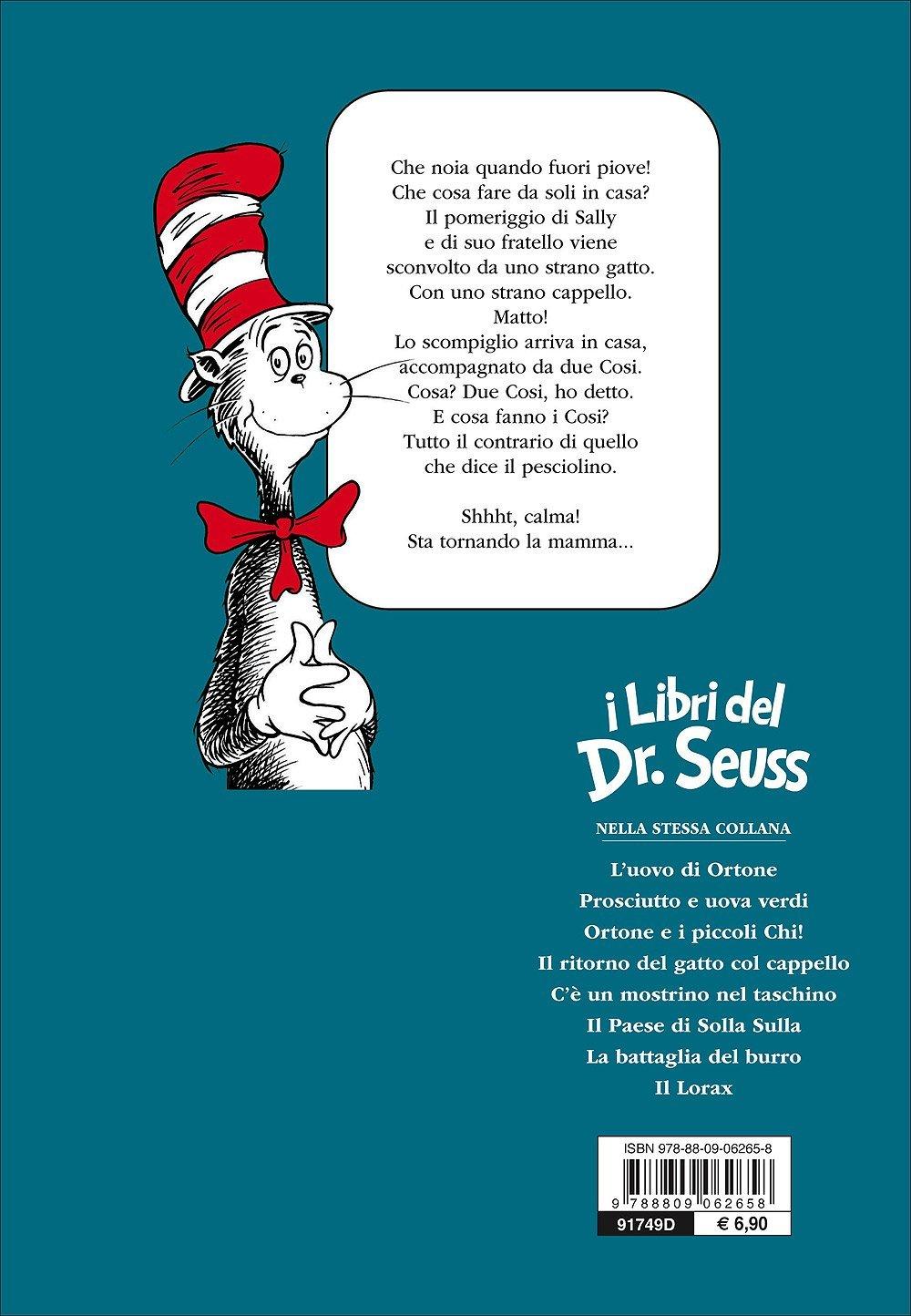 Amazonit Il Gatto E Il Cappello Matto Ediz Illustrata Dr