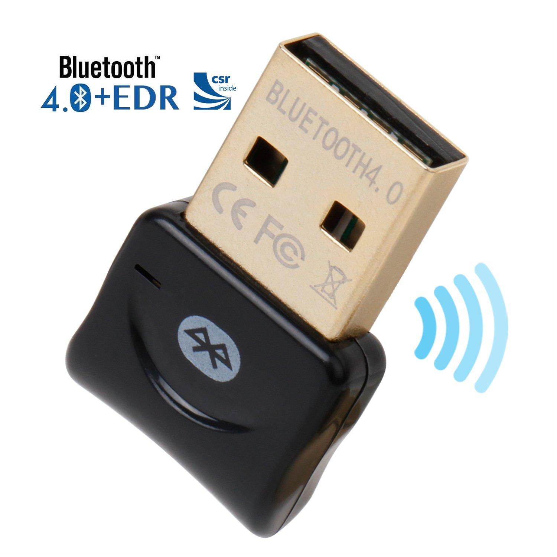Act® - Transmisor y receptor Bluetooth 4.0 por USB para Windows 10, 8.1, 8, 7 y Vista.: Amazon.es: Electrónica