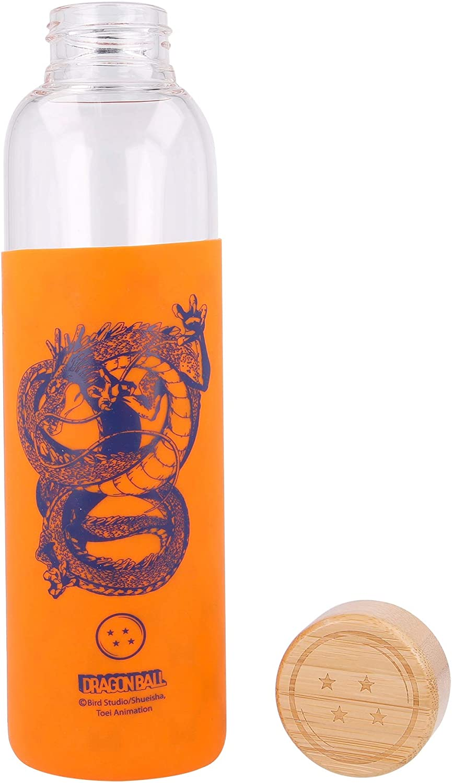 Stor Botella DE Cristal con Funda DE Silicona 585 ML Dragon Ball Young Adult