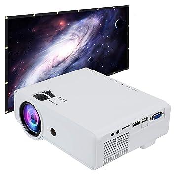 Smartelf Mini Proyector,2019 Actualizado 2800 Lúmenes 1080P Full ...