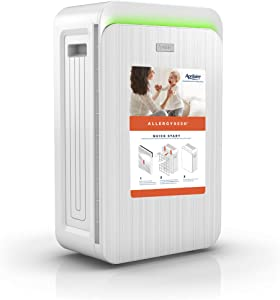 Aprilaire Allergy True HEPA Air Purifier with 3-Stage Filtration, Removes Allergens, Viruses, Odors, Ozone Free