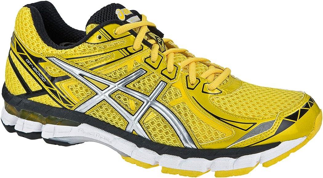 Asics Zapatillas Running GT 2000 II Amarillo EU 40.5 (US 7.5): Amazon.es: Zapatos y complementos