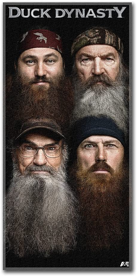 Duck Dynasty Beard with Accessory Kit