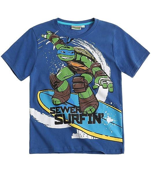 Ninja Turtles Chicos Camiseta Manga Corta - Azul - 140 ...