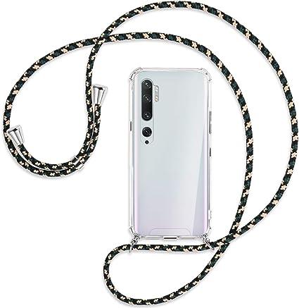 Cover in silicone per Xiaomi Mi Note 10 Note 10 Pro con cordino tracolla