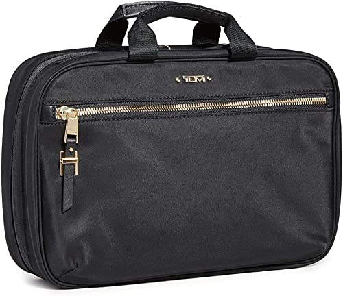TUMI – Voyageur Madina Cosmetic Bag – Luggage Accessories Travel Kit for Women – Black