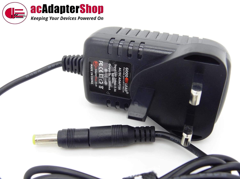 NEW UK SELLER GOOD LEAD 9V Negative Polarity AC DC Adapter For Roland TD3 KW Drum Kit