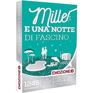 EMOZIONE3 - Cofanetto Regalo - MILLE E UNA NOTTE DI FASCINO - 1245 ...