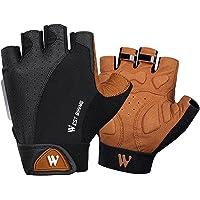 Amagogo Ademend Fietsenhandschoenen Half Vinger Golfen Klimmen Vingerloze Mitts-handschoen