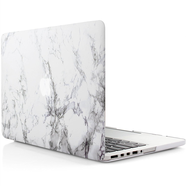 iDOO Funda dura de goma con acabado mate [Para MacBook Pro Retina 13 ...
