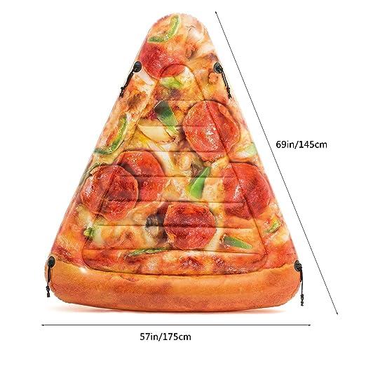 Pizza Slice Piscina Flotante Natación Inflable Juguete ...