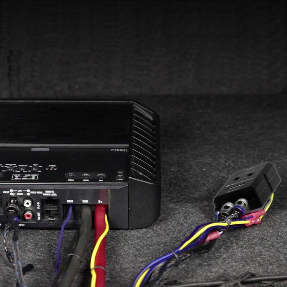 Scosche Loc2sl Car Stereo 2 Channel Adjustable Amplifier Some Wiring Diagrams For The Members Add On Adapter In Black Cell Phones Accessories