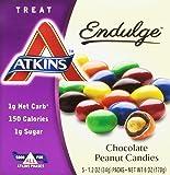 Atkins Endulge Chocolate Peanut Candies 5-1.2 Oz Packs