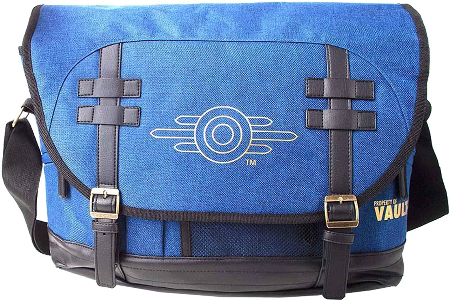 Fallout Messenger Bag Vault-Tec Logo new Official Xbox PS4 Blue One Size