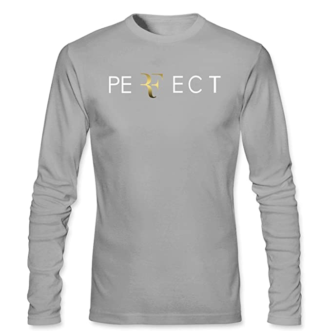 2b9240eb CONOC Men's Perfect RF Roger Federer Wimbledon Tennis Long Sleeve T Shirt:  Amazon.ca: Clothing & Accessories