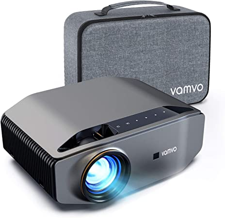 Vamvo Proyector Nativo 1080p Full HD 7000 Lux con Dolby, Pantalla de Imagen Máx de 300