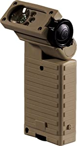 Streamlight 14032 Sidewinder Military Tactical Flashlight with Articulating Head and Batteries, Coyote - 55 Lumens