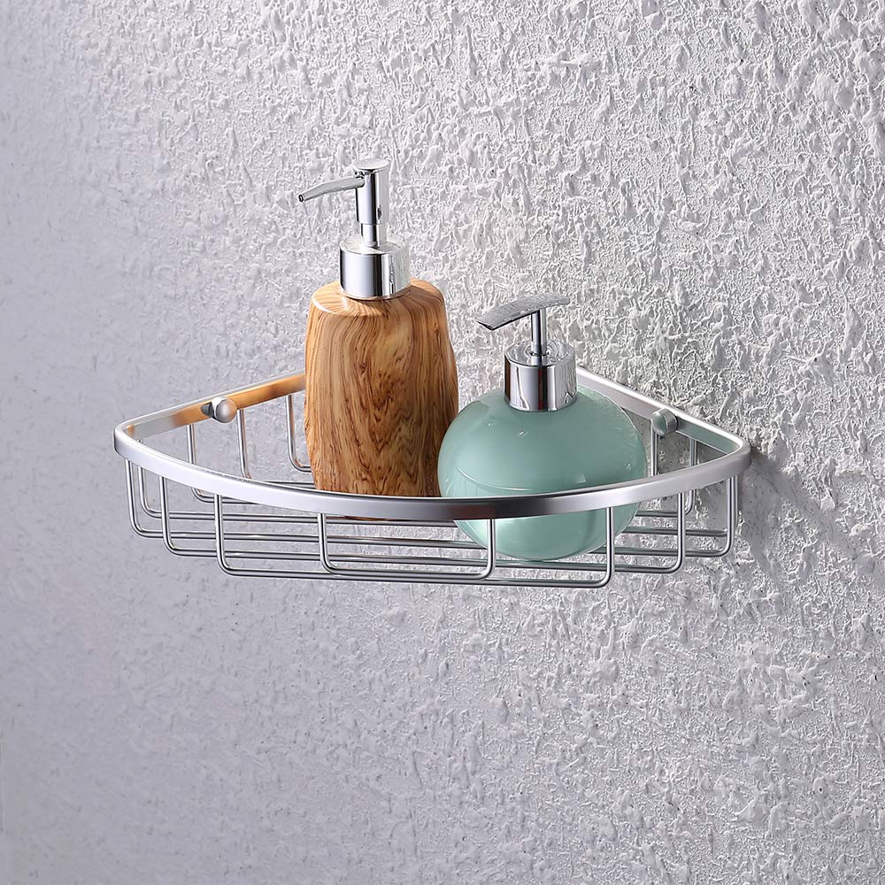 Limited A4020 KES Aluminum Tub and Shower Large Corner Basket Wall Mount U.S. A4021A KES Home