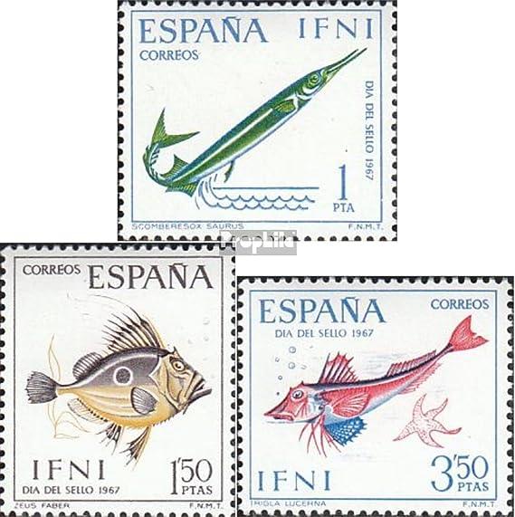Prophila Collection Ifni Michel.-No..: 259-261 (Completa.edición.) 1967 Peces (Sellos para los coleccionistas) Los Animales acuáticos: Amazon.es: Juguetes y juegos