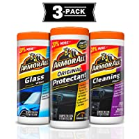 Deals on 3-Pack Armor All Protectant, Glass and Cleaning Wipes, 30 Ct