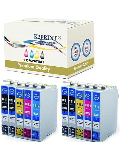 Cartuchos de tinta para impresoras Epson XP-412: Amazon.es ...