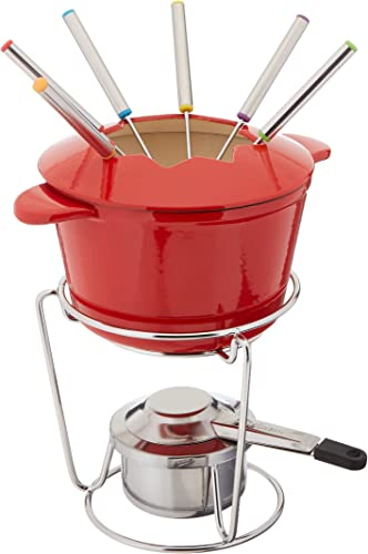 Cuisinart 13-Piece Cast Iron Fondue Set