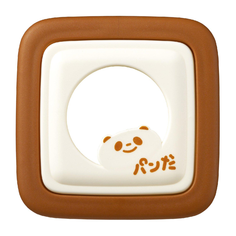Akebono Sando di Panda giapponese cortador de Sandwich marrone e bianco 1 - Pack marrone e bianco RE-182