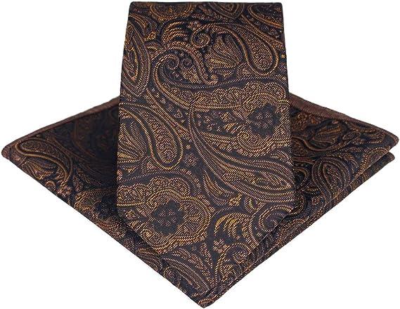Westeng Homme Cravate en Polyester Cravate élégante Motif
