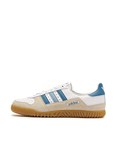 detailing f3463 08bab adidas Indoor Comp Spzl, Chaussures de Cross Homme, Blanc Ftwwht Supcol  Cbrown
