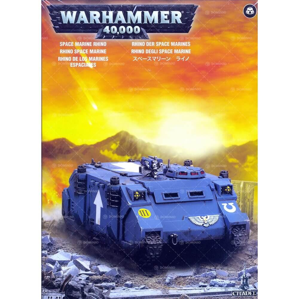 Warhammer 40,000 Mark IIc Rhino M31/99.12.01/017 Space Marine Transport Model Kit