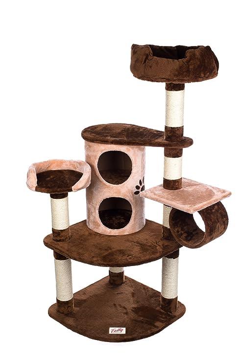 Marcas esquina Rascador de foffy & Friends® sbe313 gato gato, Juguete algodón con Sisal