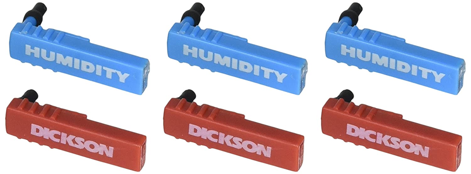3 Red 3 Blue DICKSON P246 Replacement Pen Kit