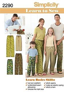 Amazon com: Simplicity Creative Patterns US8022A Child's